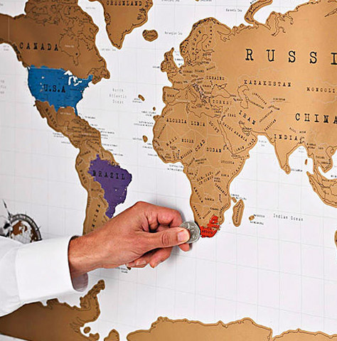 Mapa sveta - Greb